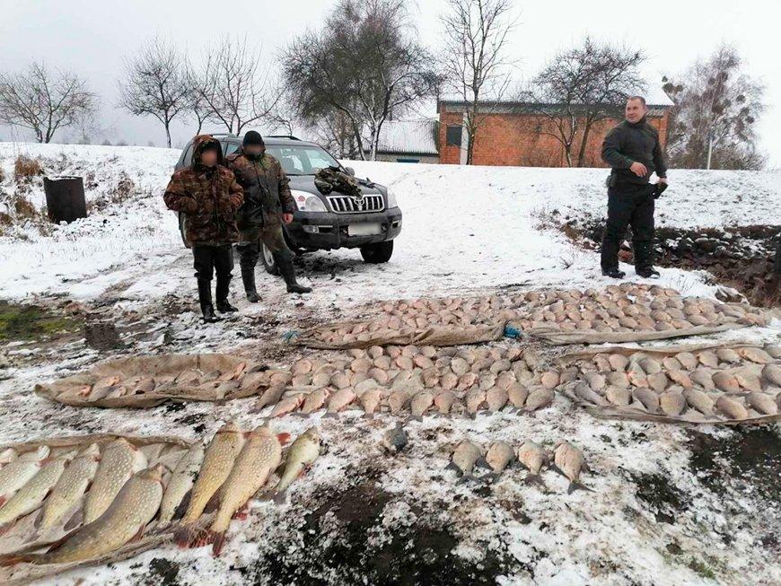 В Житковичском районе задержали браконьеров