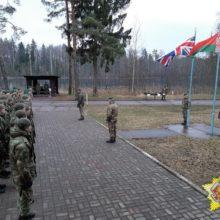 Беларусские и британские военные вместе тренируются на полигоне Лосвидо