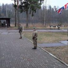 Британские морпехи в лесах Беларуси