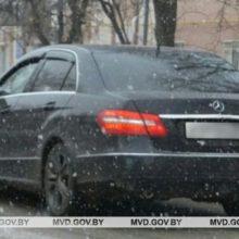 Директор фирмы угнал Mercedes во время тест-драйва в Светлогорске