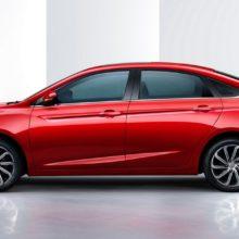 Geely показала модернизированный седан Emgrand GL