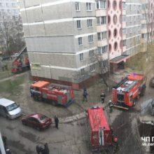 На Речицком проспекте в Гомеле горела квартира