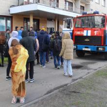 В Гомеле загорелось общежитие ГГУ имени Ф. Скорины