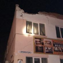 В Лоеве обрушились плиты перекрытия двухэтажного здания