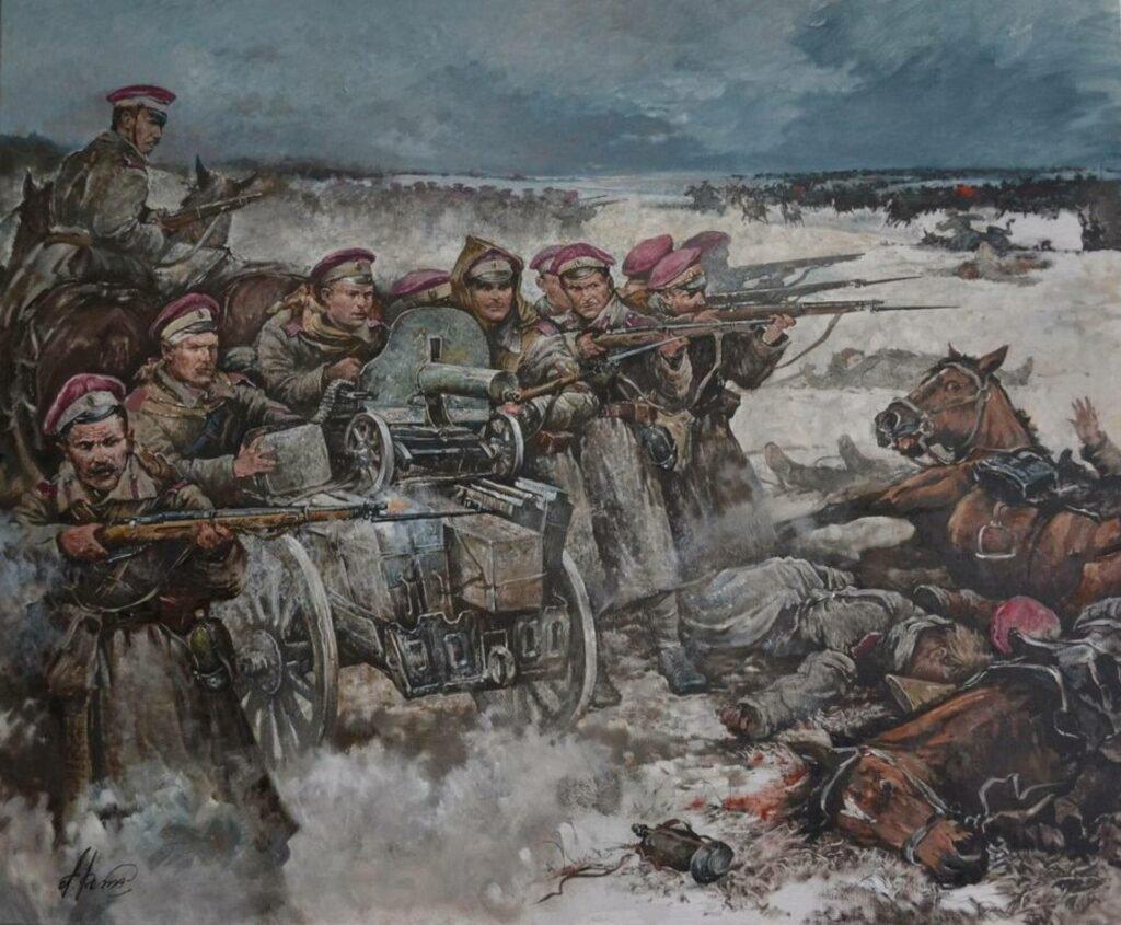 Гражданская война, худ. А. Ромасюков