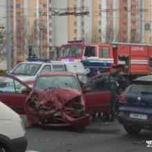 Видео: в Гомеле на Советской произошло жуткое ДТП
