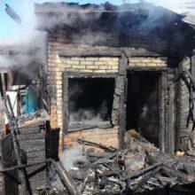 Пожар в Рогачевском районе: хотели позавтракать и сожгли дом