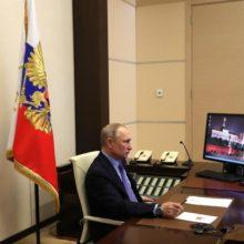 Владимир Путин перешел на работу по удаленке