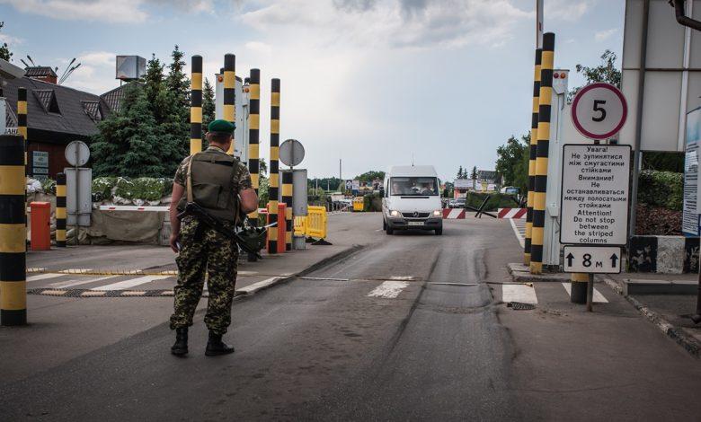 Украина открывает границы с соседями, исключив Беларусь и РФ