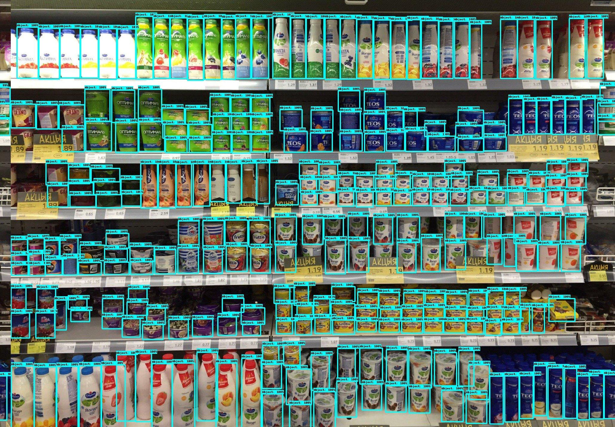 В Гомельской области искусственный интеллект проанализирует товары на полках магазинов