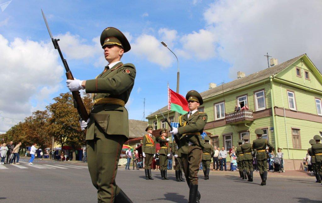 Белорусские военнослужащие примут участие в параде Победы в Москве