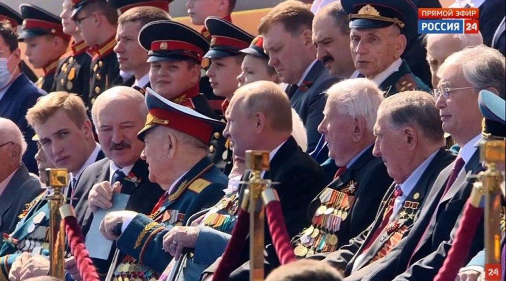 Лукашенко в Москве принял участие в торжественных мероприятиях ко Дню Победы