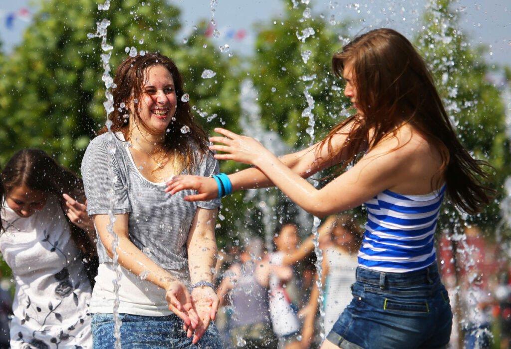 Беларусь дождалась жаркого лета