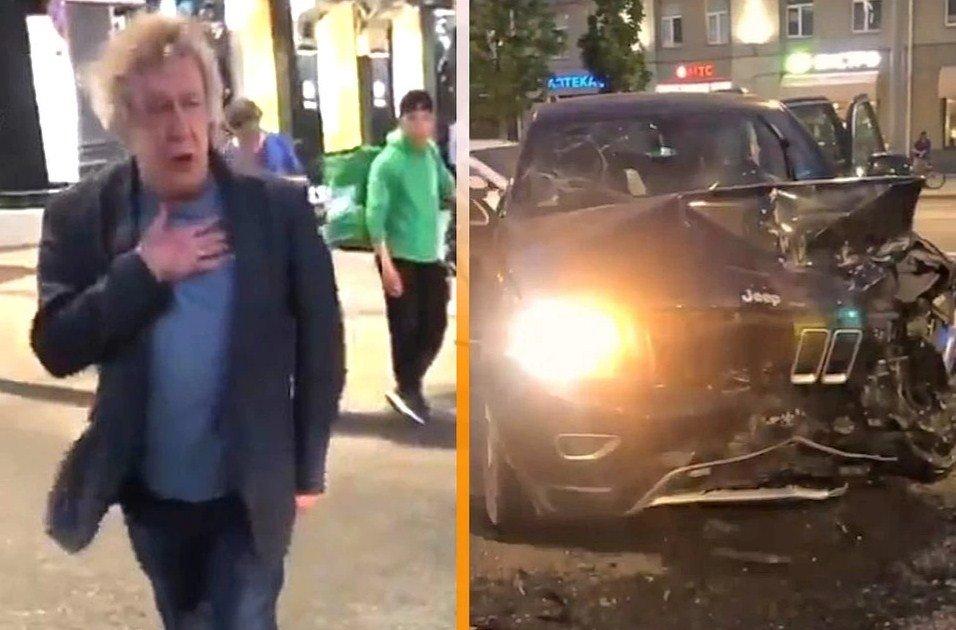 Актёр Михаил Ефремов убил человека, сев пьяным за руль