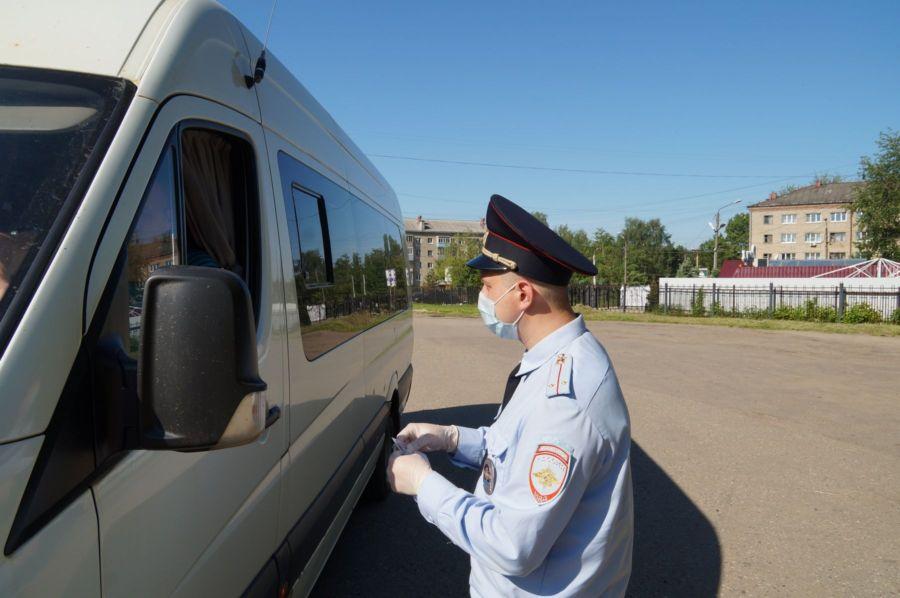 В Гомельской области автоинспекция усилит контроль за перевозками пассажиров
