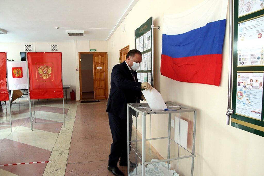 Россияне смогут проголосовать за поправки в конституцию в Гомеле