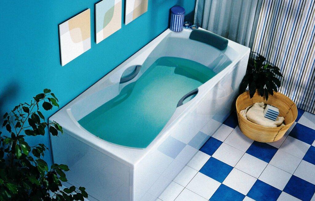 Акриловая ванна: все плюсы использования и недостатки
