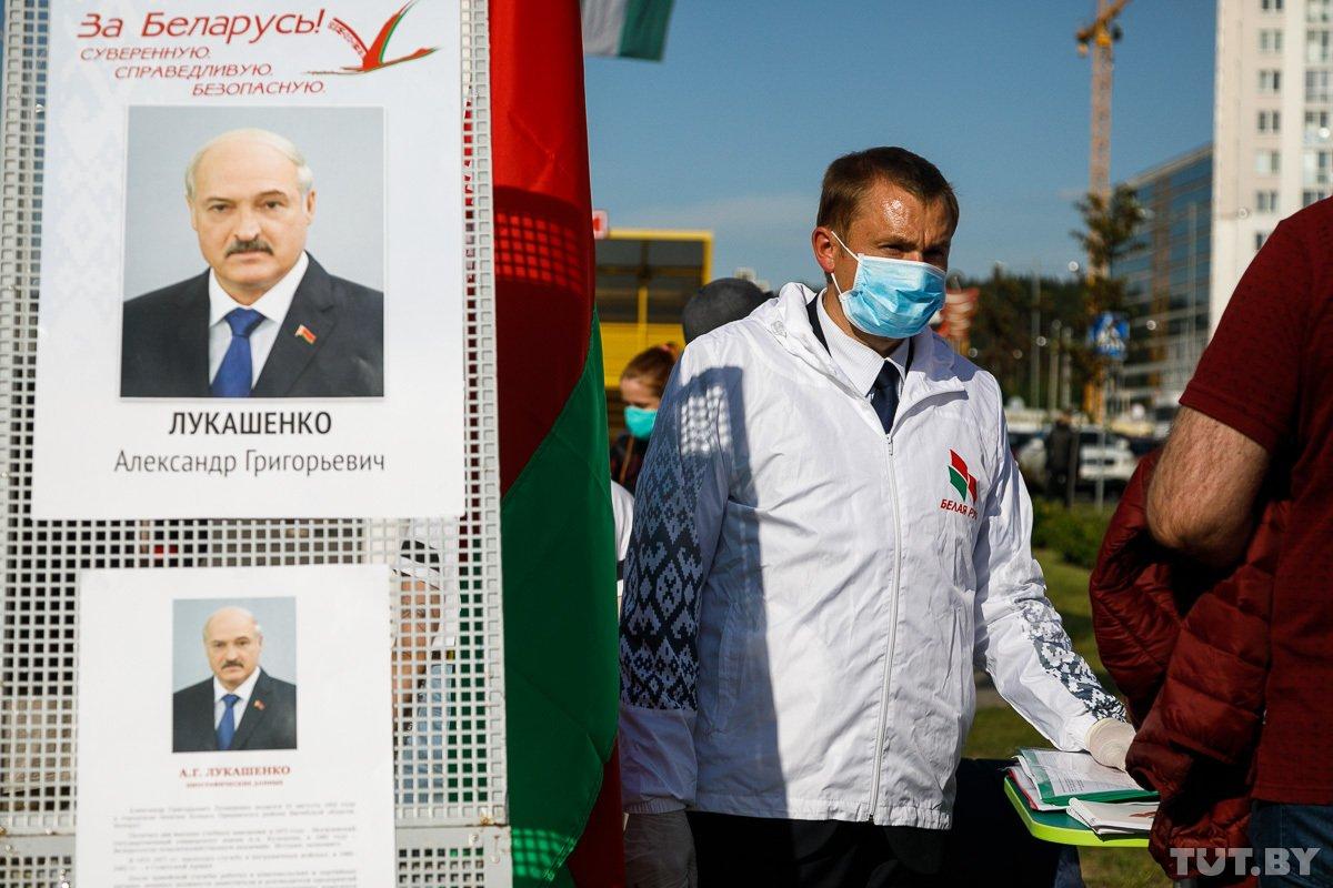 За кандидатуру Лукашенко готовятся организовать более 880 пикетов