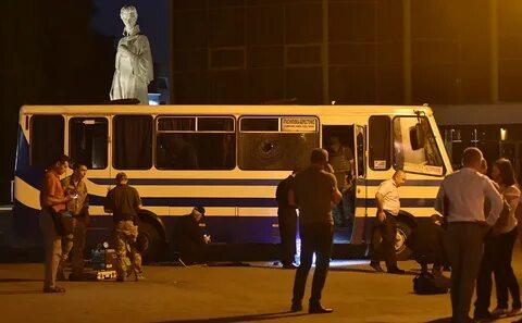 Все заложники в украинском Луцке освобождены, захватчик сдался