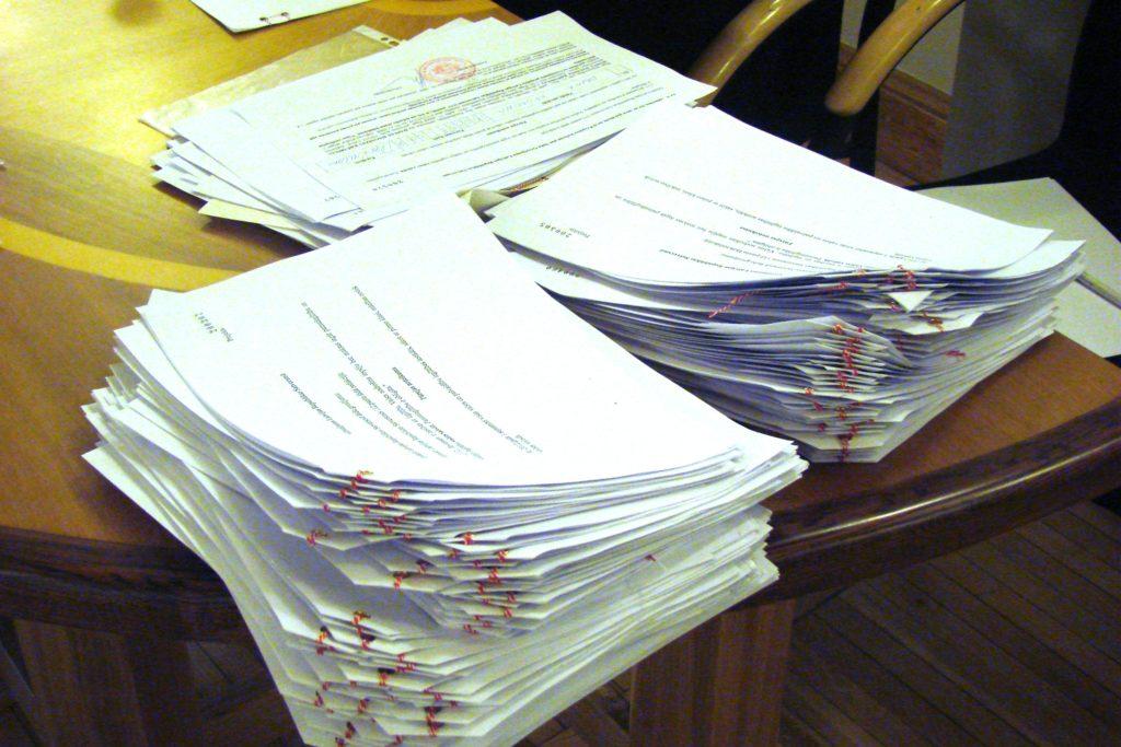 Стало известно количество подписей за претендентов в президенты, которые утвердил ЦИК