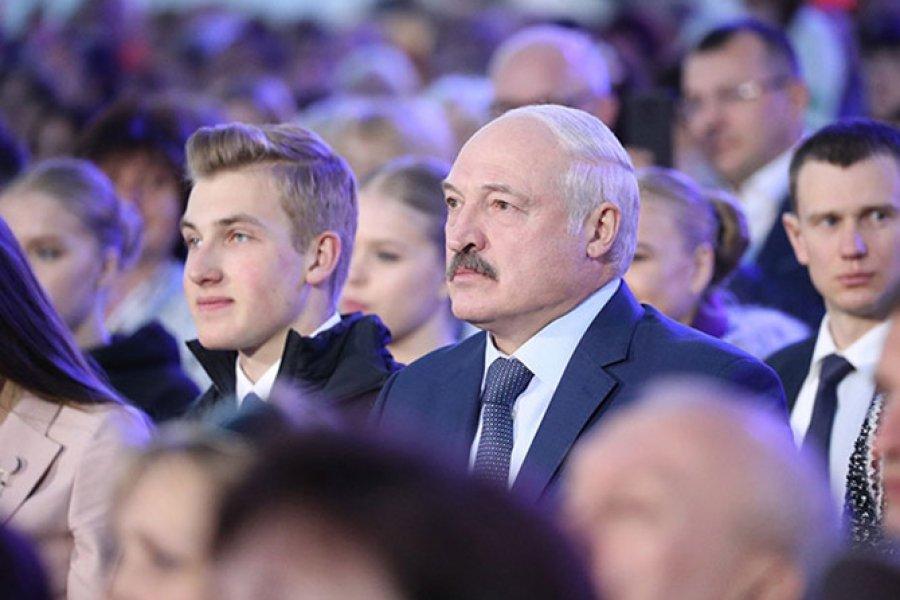 Лукашенко и его сын