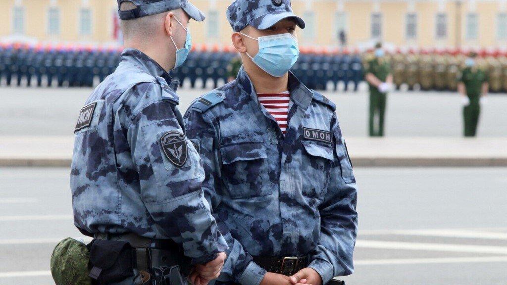 резервные подразделения из правоохранителей РФ
