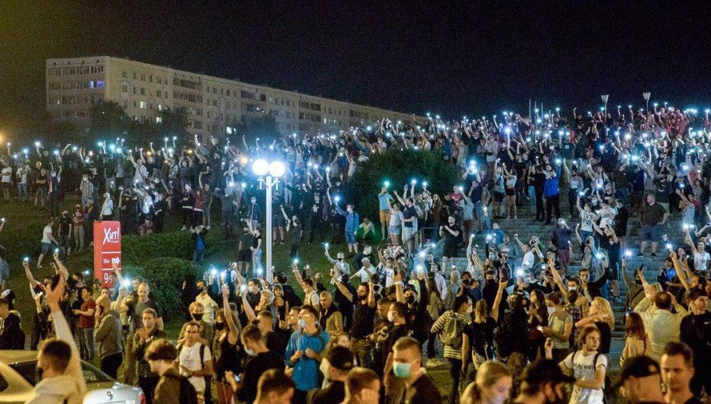 мирные протесты