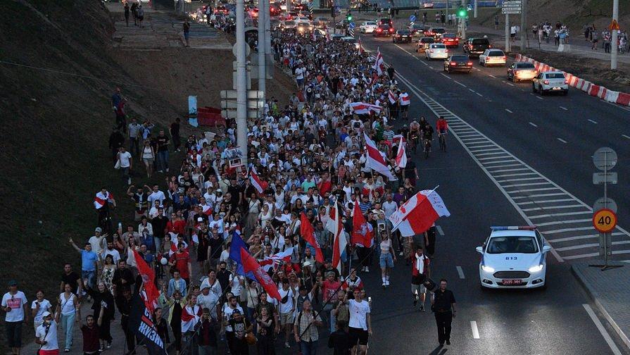 Митинг на Окрестино