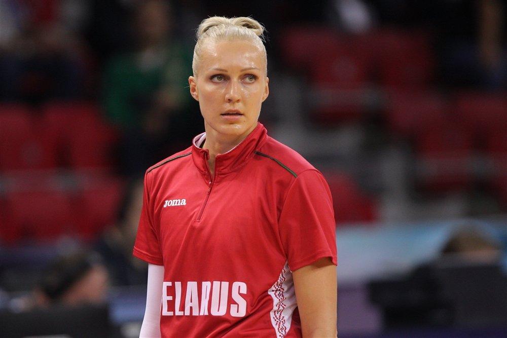 баскетболистка Левченко