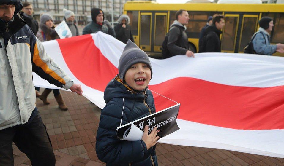 детей в акциях протеста