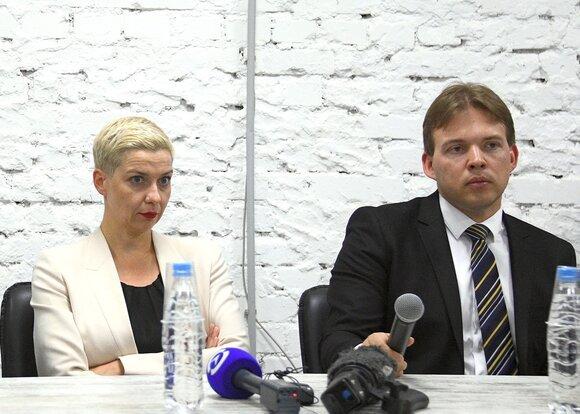 аресте Колесниковой и Знака