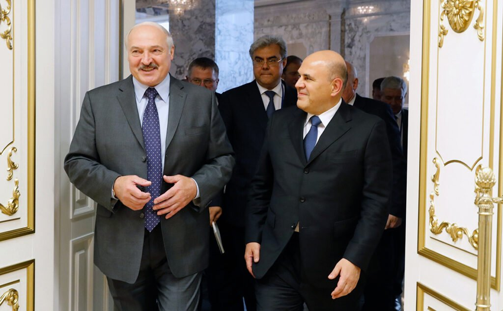 Мишустин и Лукашенко