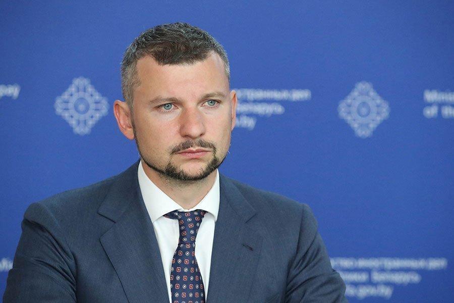 Пресс-секретарь МИД Анатолий Глаз