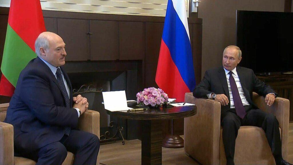 Путина и Лукашенко
