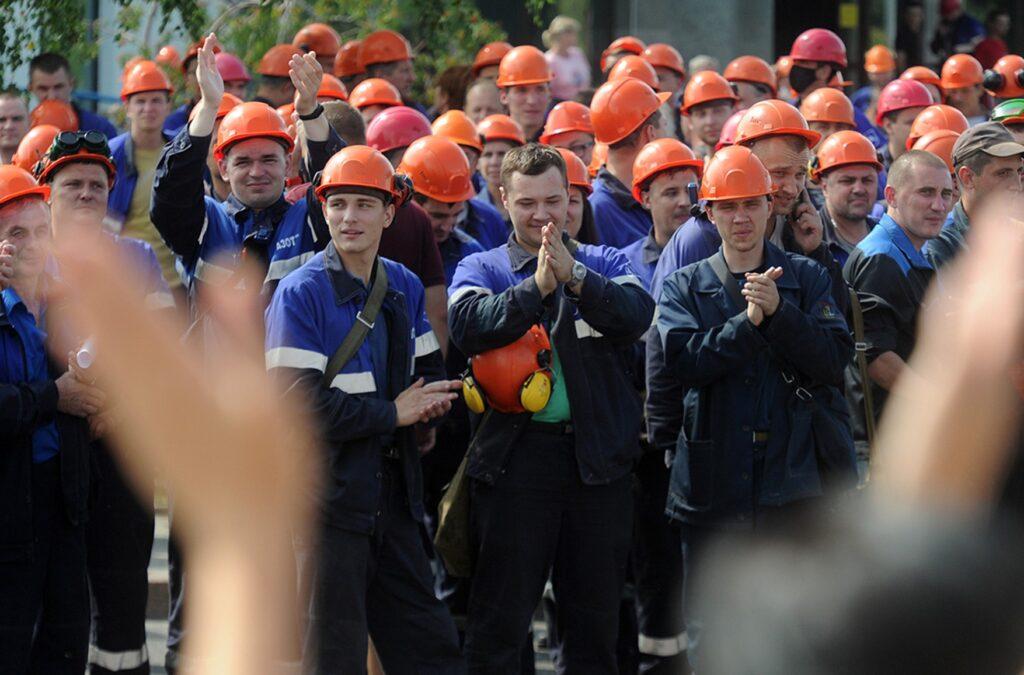 забастовки на предприятиях в Беларуси