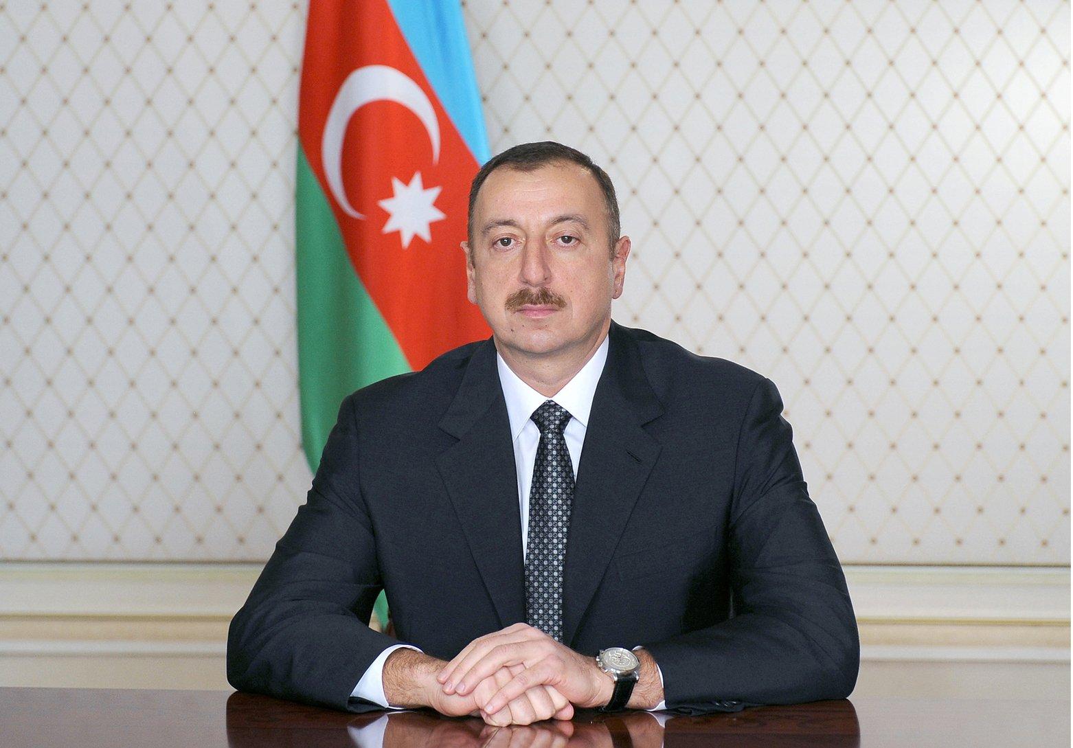 Президент Азербайджана Ильхам Алие