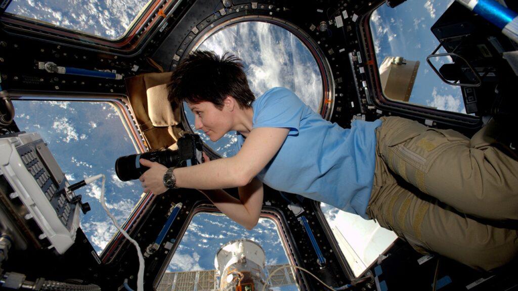 первом фильме, снятом в космосе
