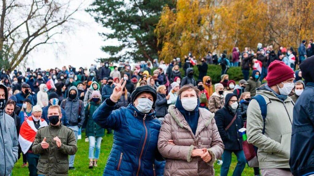 протестных акций